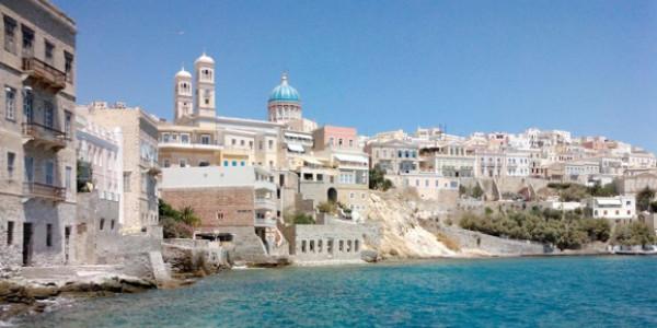 Cyclades Islands Syros