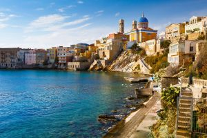Sailing holidays in Syros