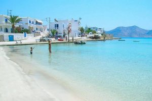 Sailing holiday on the Small Cyclades
